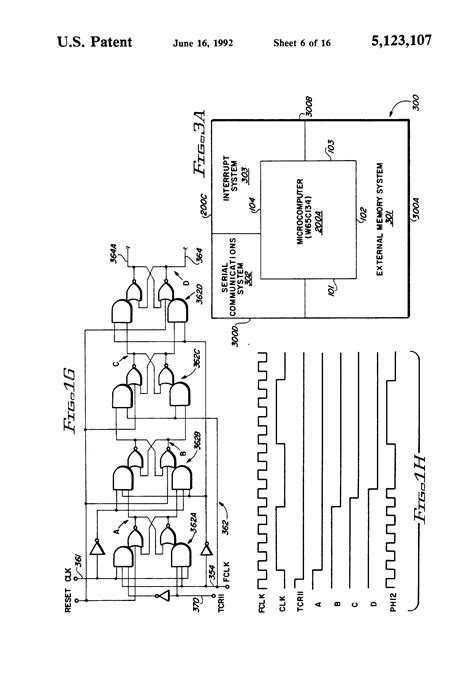 topography of integrated circuit patent us5123107 topography of cmos microcomputer integrated circuit chip including