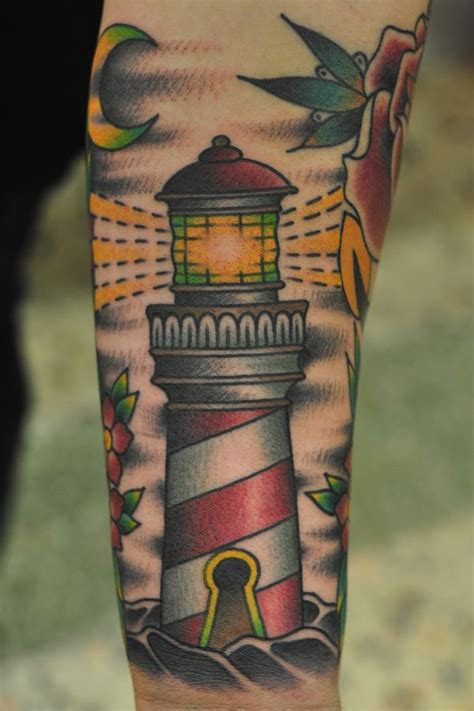 lighthouse tattoo chest pictures to 14 best images about lighthouse tattoos on