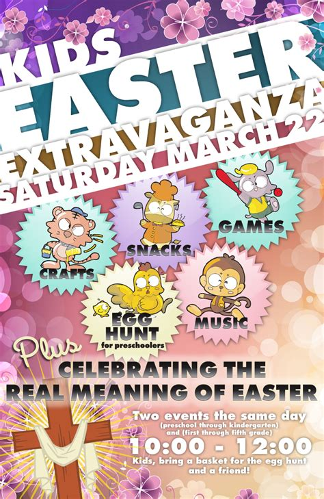 posters for easter habc easter poster portfolio