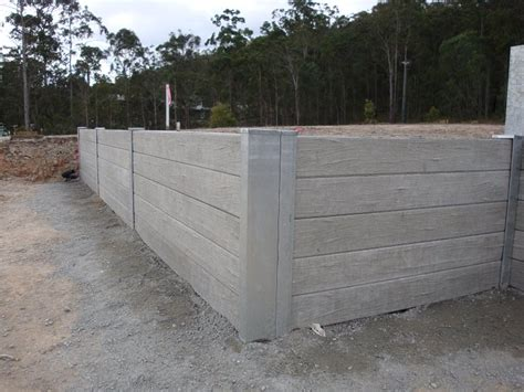 Concrete Sleepers Cost by Australian Retaining Walls Concrete Sleeper Retaining