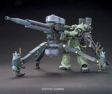 model kits gundam thunderbolt zaku ii big gun hg model kit 1 144