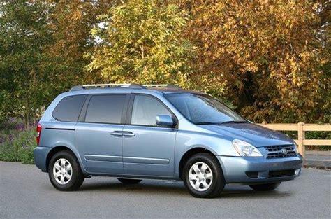 2006 Kia Sedona Recalls Kia Recalls Nearly 80 000 Sedona Minivans For Corrosion