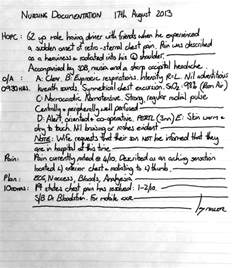 nurses notes template 10 best images of chart documentation progress notes