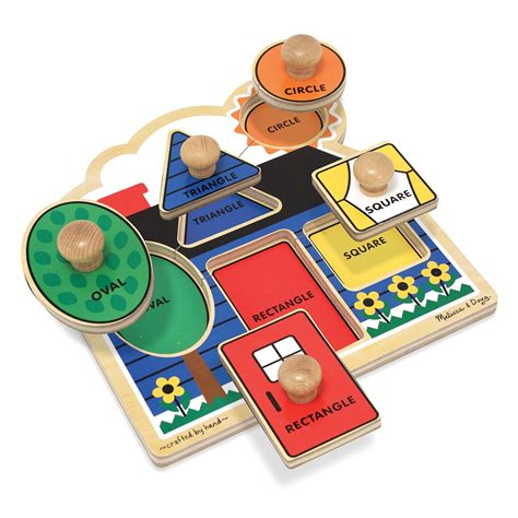 And Doug Jumbo Knob Puzzle doug shapes jumbo knob puzzle qc supply