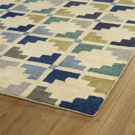 kaleen rosaic roa05 17 blue rug