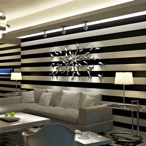 buy modern simple stripe wallpaper