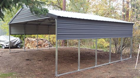 Home Depot Carports 20x20 versatube metal building kits with free shipping metal