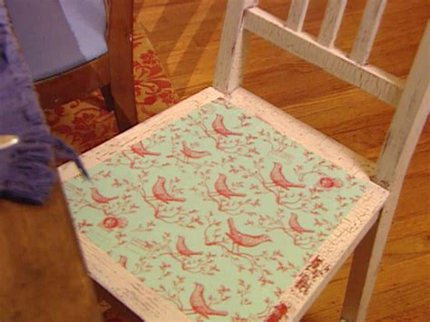 Decoupage A Chair - decoupage ideas for furniture hgtv