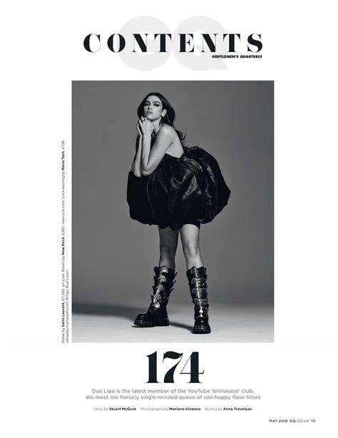 dua lipa uk store dua lipa in gq magazine uk april 2018 issue hawtcelebs