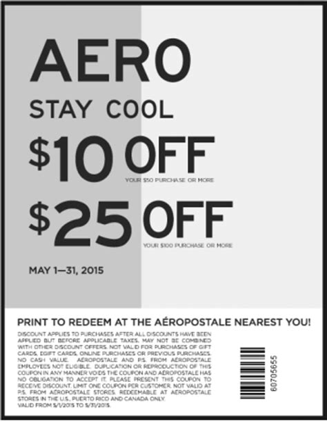 Aeropostale Coupon Codes 25 Off & Free Shipping Coupons 2015