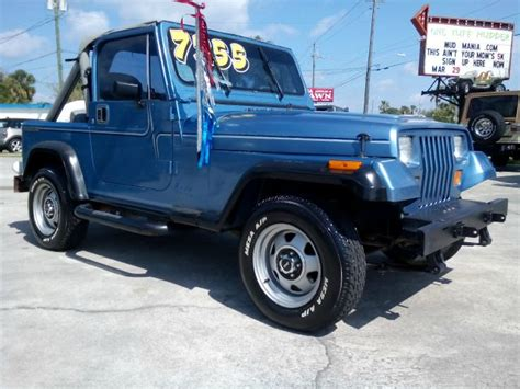 1989 Jeep Wrangler Soft Top Used 1989 Jeep Wrangler For Sale Carsforsale