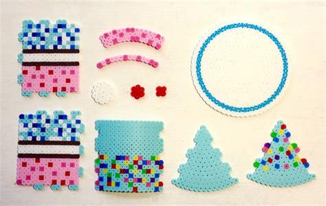3d perler bead cake pixel shop