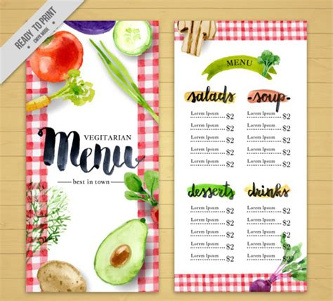 free food menu template food menu templates free food menu templates free