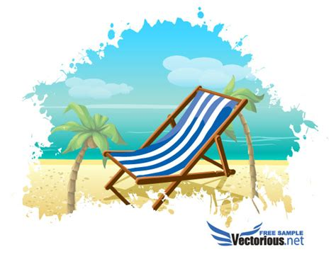 how to make a flyer online free download summer beach vector background free