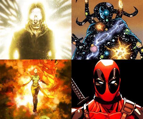 marvel film rankings fan ranks the most powerful marvel characters mightymega