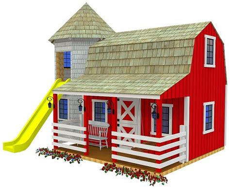 kids play house plans playhouse plans kids playhouse plans and barns on pinterest