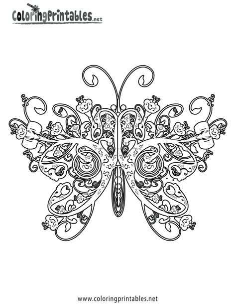 advanced butterfly coloring pages awesome coloring pages for adults butterfly coloring