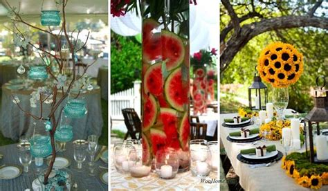 backyard wedding centerpiece ideas 19 lovely summer wedding centerpiece ideas will amaze your guests amazing diy