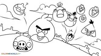 angry bird coloring pages children barriee