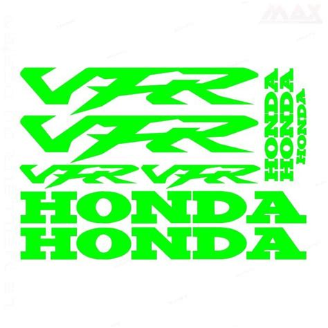 Honda 9 9 Sticker by Stickers Honda Vfr Achat Vente Pas Cher