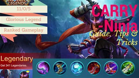 tutorial hayabusa mobile legend most in depth guide mobile legends hayabusa guide with