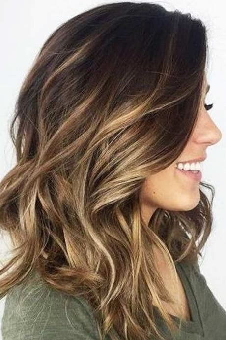 cute hair color ideas for winter easy haircuts for medium hair