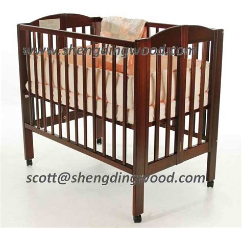 Folding Baby Crib China Childs Pine Wooden Baby Folding Crib China Baby Cot Baby Crib