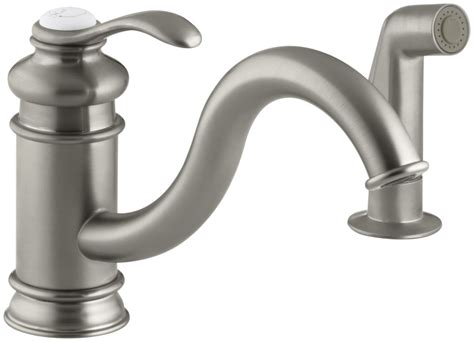 kohler kitchen sinks faucets faucet k 12176 bn in brushed nickel by kohler