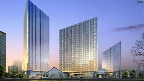 3d architecture design grattacieli