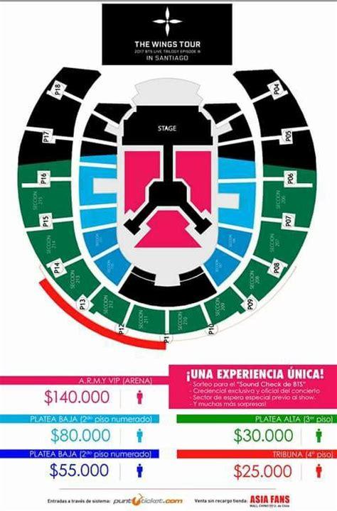 imagenes de entradas vip precios de las entradas del concierto de bts k pop