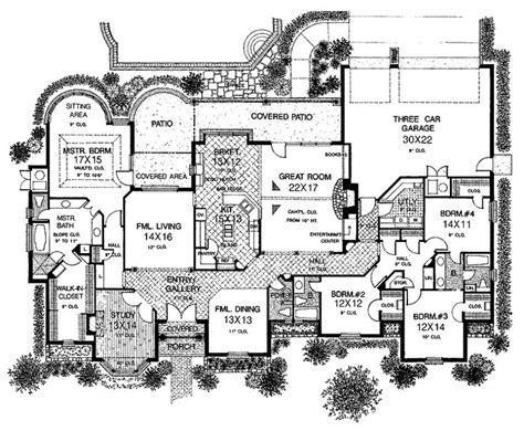 rich house plans best 25 one story houses ideas on pinterest house plans one story one floor house