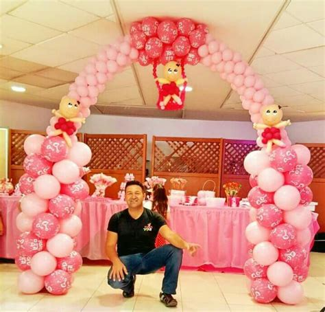 Baby Shower Balloon Arch by 17 Best Images About Baby Shower Balloons On