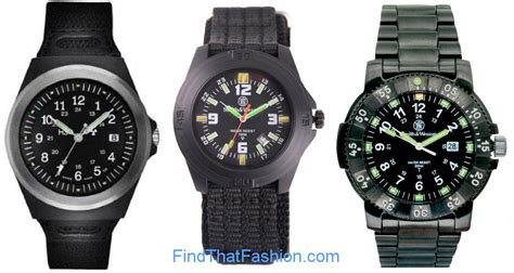h3 tactical watches