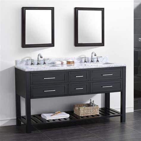 Shop Ove Decors Sarasota Espresso Undermount Double Sink Bathroom Cabinets Sarasota