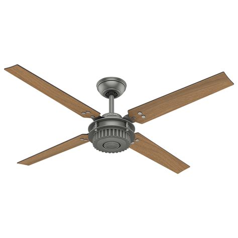 ceiling fan 59236 chronicle modern matte silver walnut indoor