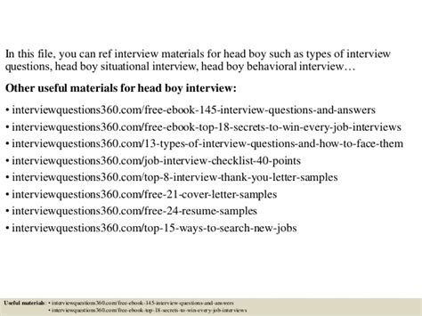 top 10 boy questions and answers