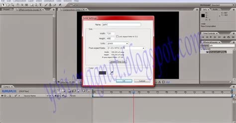 membuat iklan di after effect my world membuat effect petir lightning di after effects