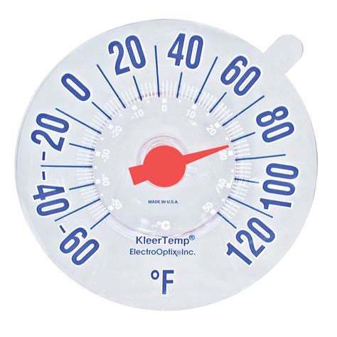 Termometer Vixion maxiaids low vision windowpane thermometer