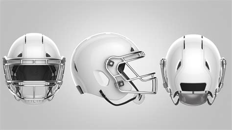 design helmet football zero1 helmet design prevents head trauma in football