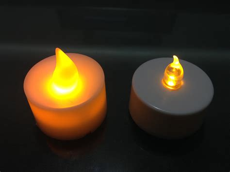 Battery Candles by High Quality Battery Operated Flickering Flamless Tea