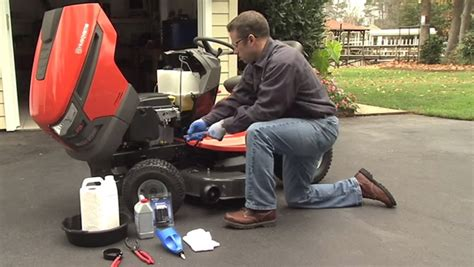 changing on honda lawn mower how to change the and replace the filter on a
