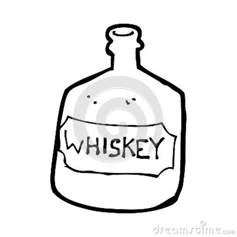 cartoon alcohol jug whiskey bottle colouring pages