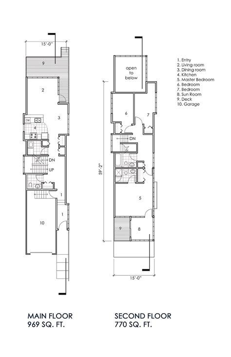 narrow home design portland narrow lot house portland oregon