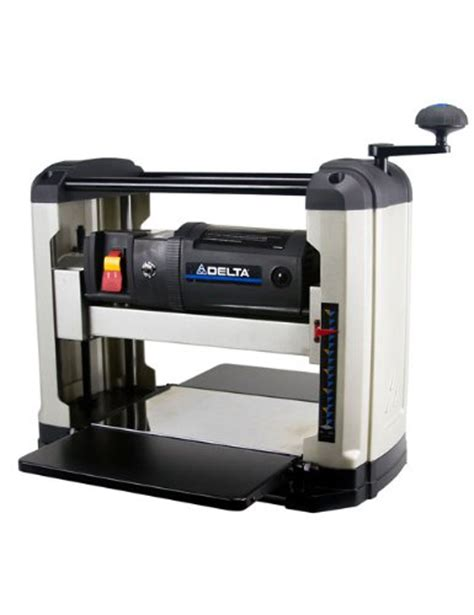 delta woodworking tools prices delta power tools 22 555 13 in portable thickness planer