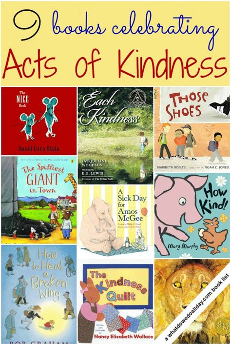 themes in the book of acts acts of kindness books for kids