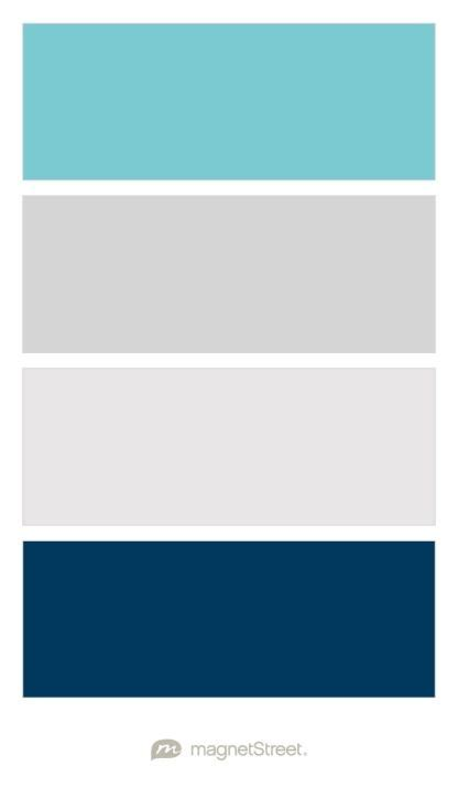 boy color turquoise silver winter white and navy baby boy nursery