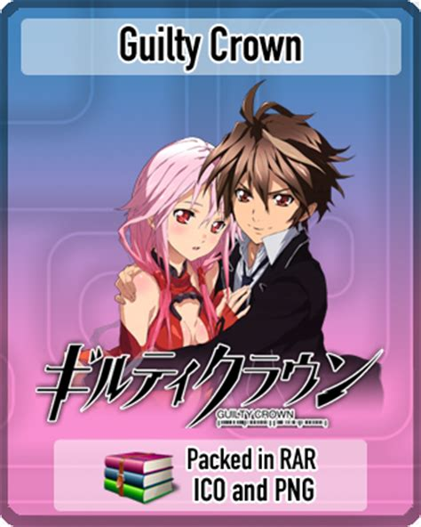 guilty crown anime icon by rizmannf on deviantart guilty crown anime icon by amirovic on deviantart