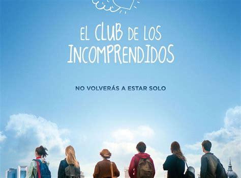 el club de los 8467526424 primer p 243 ster de el club de los incomprendidos noche de cine