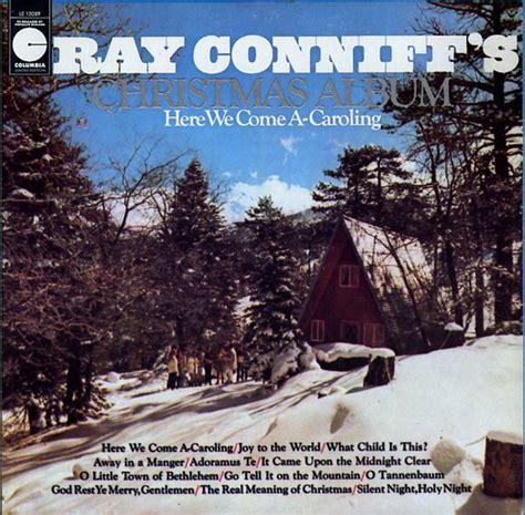 ray conniff ray conniffs christmas album     caroling vinyl lp album reissue
