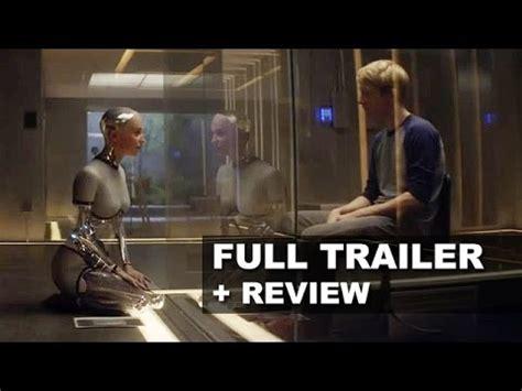 ex machina film review ex machina 2015 official trailer trailer review beyond